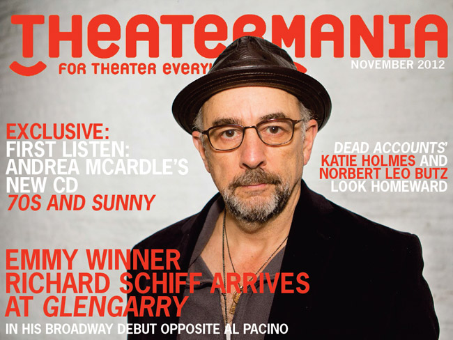 Theatermania Cover - Richard Schiff